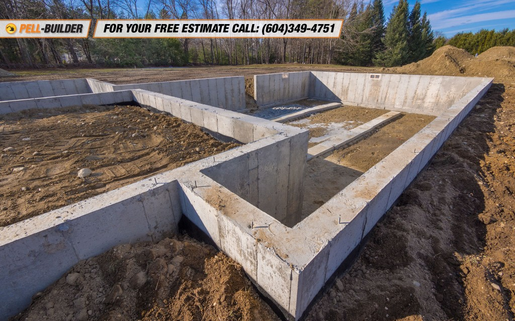 Concrete foundation vancouver bc pell builder inc