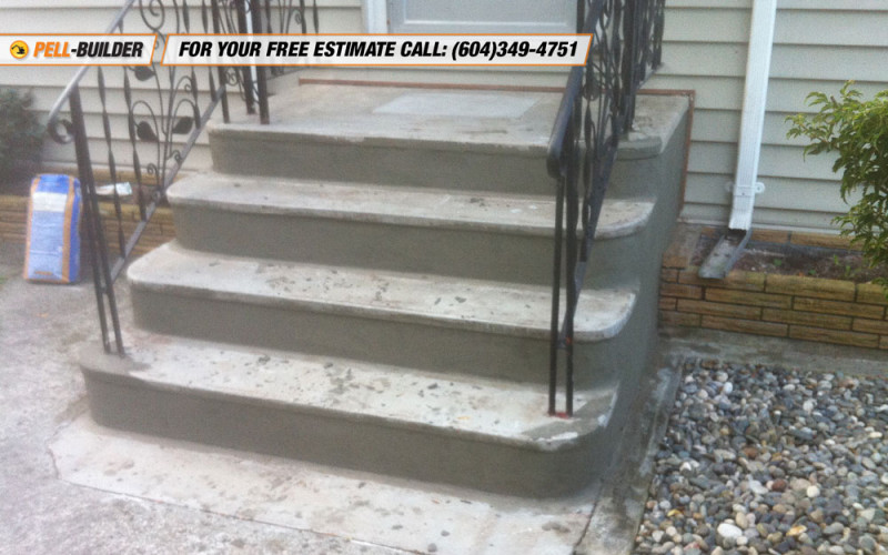 patch concrete stairs