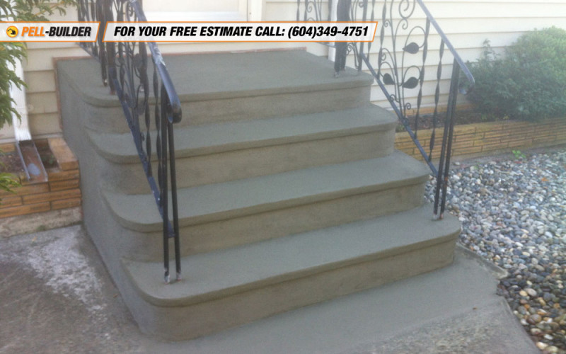 27 Stairs Repair In Vancouver Pell Builder Inc Concrete Contractor  Vancouver Bc