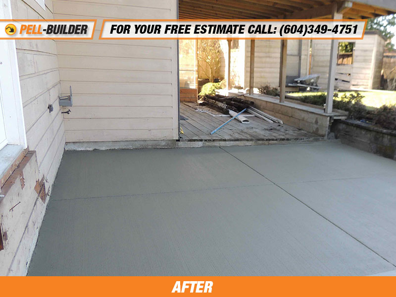 36 Broom Finish Concrete Driveway Pell Builder Inc