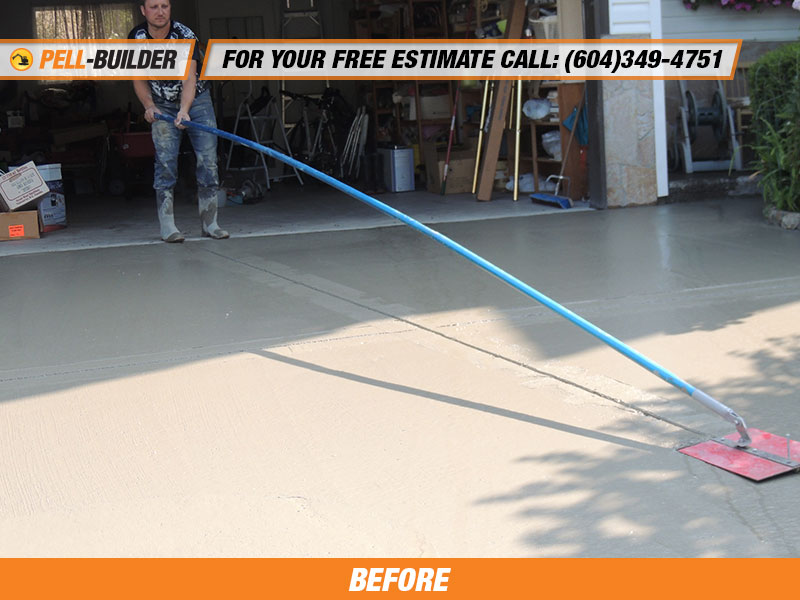 Concrete driveway removal and replacement langley bc for Removing concrete driveway