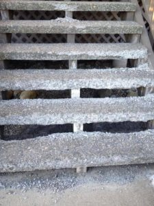the most durable material used to build outdoor indoor and even basement stairs is concrete concrete stairs require very little maintenance and they look